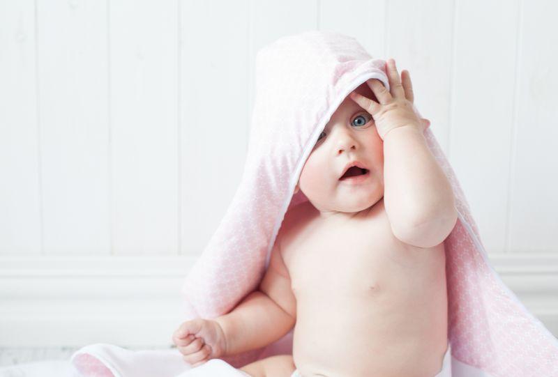 Miminko v ručníku